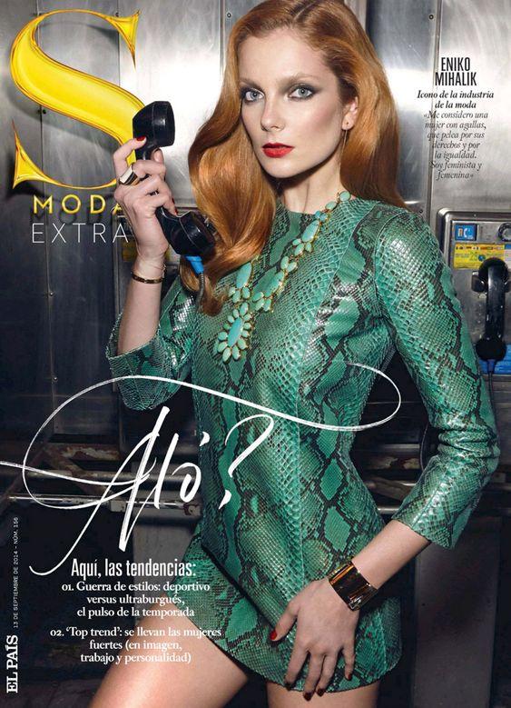 Eniko Mihalik for S Moda, 13 september 2014