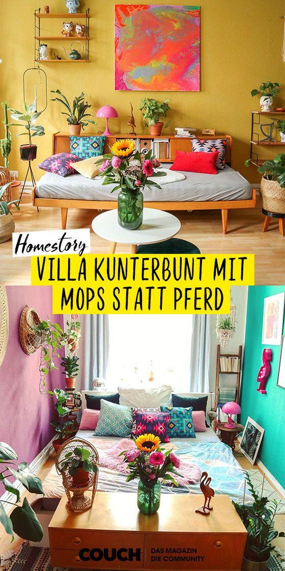Villa Kunterbund Mit Mops Statt Pferd In 2020 Villa Kunterbunt