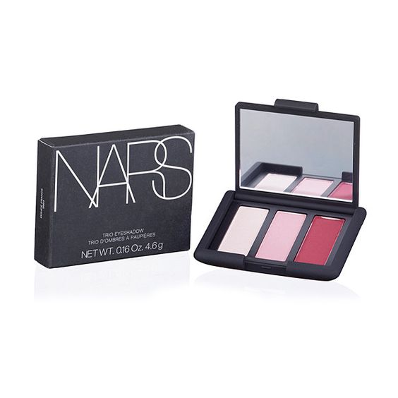 NARS Cosmetics Icy Pink, Rose Petal & Deep Rose Trio Eye Shadow (680 MXN) ❤ liked on Polyvore featuring beauty products, makeup, eye makeup, eyeshadow, nars cosmetics and palette eyeshadow