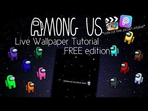 Among Us Wallpaper Tutorial Free Edition Youtube Hype Wallpaper Iphone Background Wallpaper Iphone Wallpaper Vsco