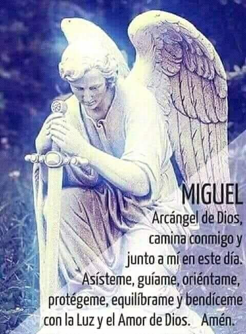 Angeles Arcangel Miguel Oracion Oraciones Religiosas San