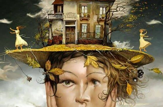 agorafobia ilustracion: