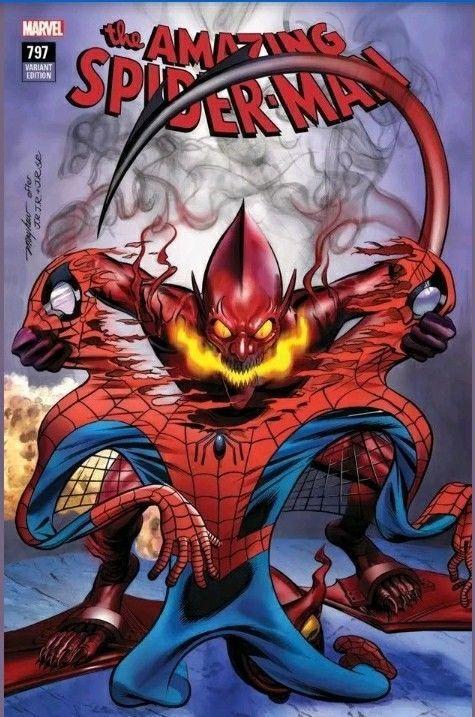 AMAZING SPIDER-MAN 797 DELL OTTO VIRGIN CONV VARIANT 3-PK 1st RED GOBLIN 1000 PT