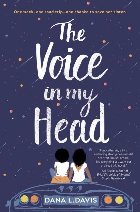 The Voice in My Head book cover -- Dana L. Davis's new and upcoming book.