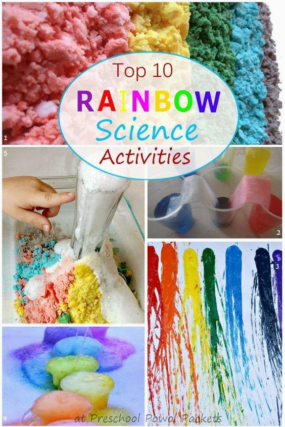 Top 10 Rainbow Science Activities! | Preschool Powol Packets