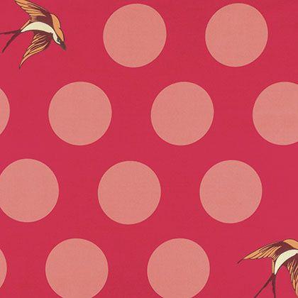 Tula Pink - Free Fall - Free Fall - Lipstick