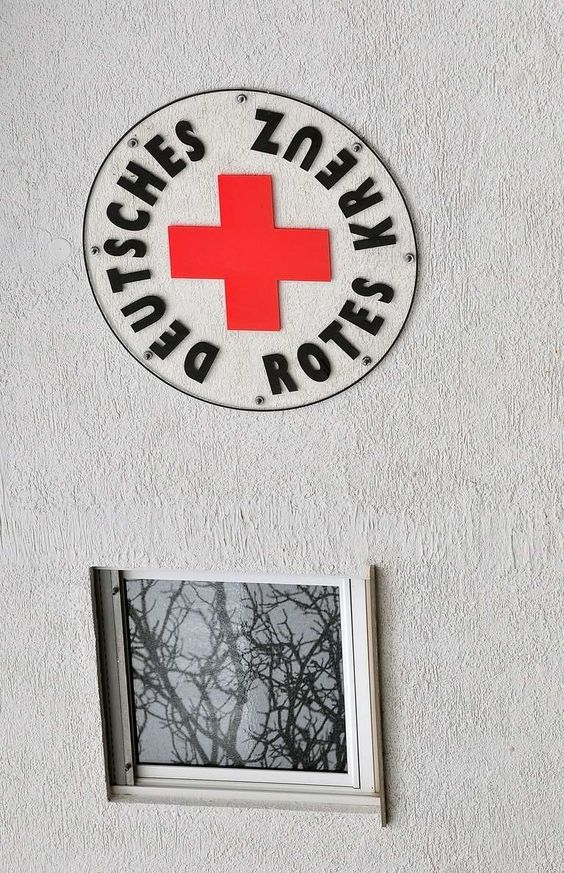 The Red Cross has a presence at Oktoberfest every year, treating those who overdrink with fluids and beds