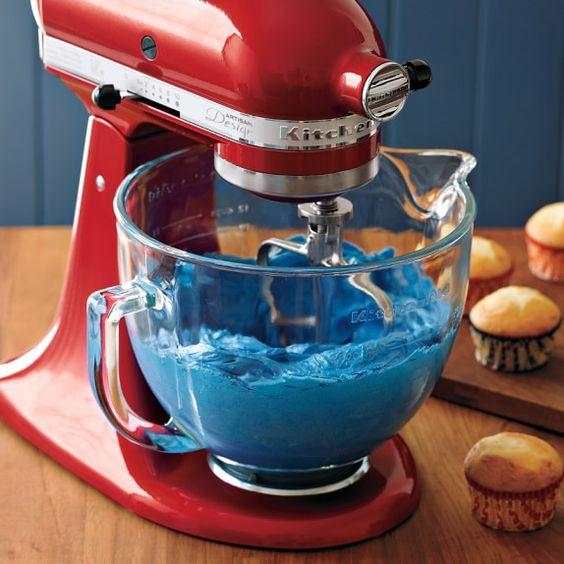 Kitchen Aid Gl Bowl   Kitchenaid Stand Mixer Glass Bowl Attachment Williams Sonoma