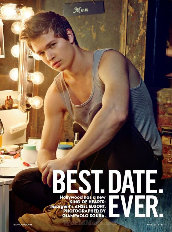 """Duchess Dior: """"Best.Date.Ever"""" Ansel Elgort and Olivia Hamilton by Giampaolo…"""