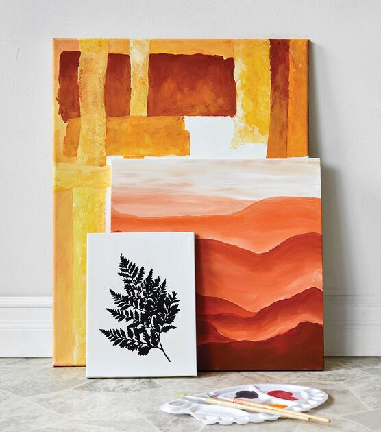 How To Make Painted Modern Art Canvases Online Joann Painting Modern Canvas Art Modern Art