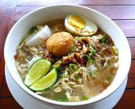 Resep Soto Ayam Khas Indonesia Resep Soto Resep Resep Masakan Resep Masakan