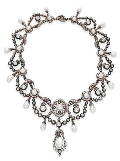 Necklace 1860s Christie's