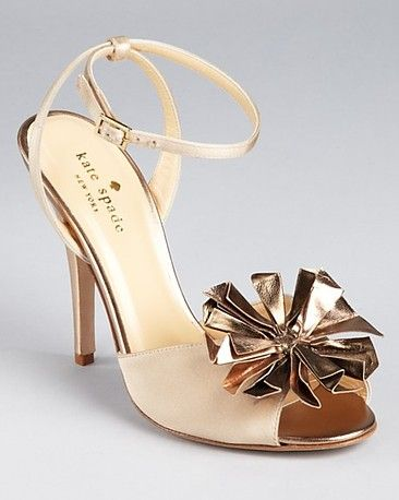 Kate Spade sandals, great statement shoe