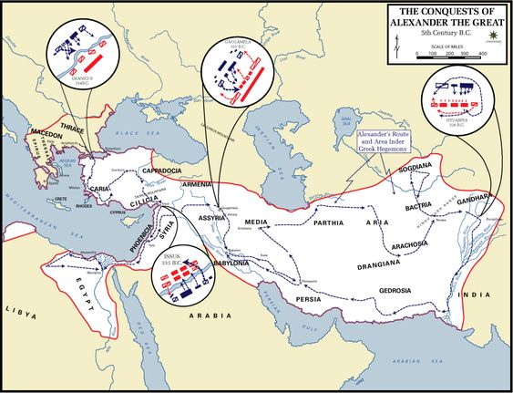 Alexander the Great - Troop Movements