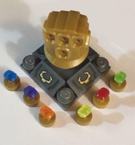 LEGO Marvel Super Heroes Infinity Stones Gems Set of all 6 for Infinity Gauntlet