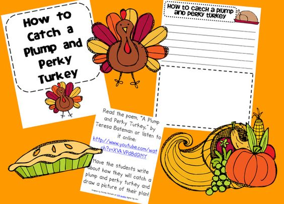 Ginger Snaps: How to Catch a Plump and Perky Turkey!