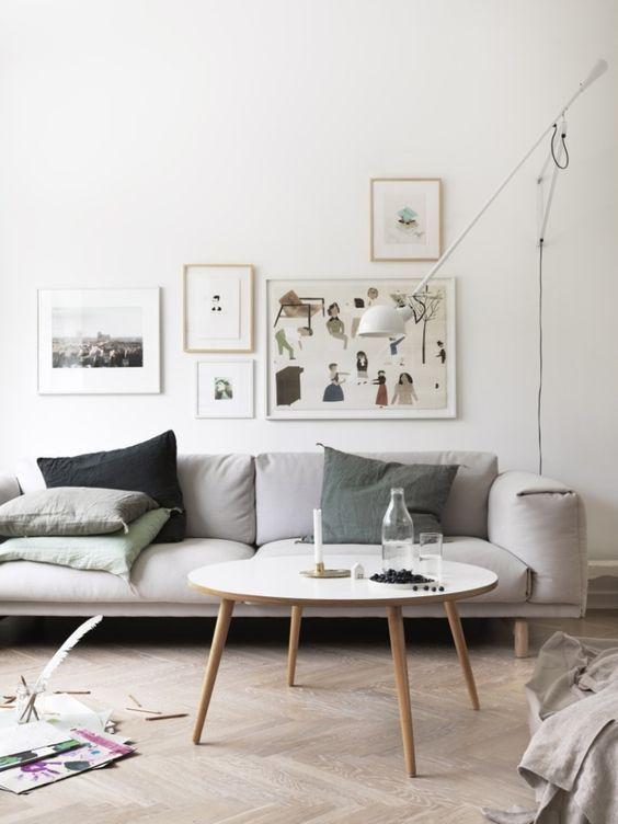 265 Lamp Wall Ceiling Flos In 2020 Scandinavian Design Living Room Living Room Scandinavian Living Room Designs