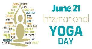 World Yoga Day...