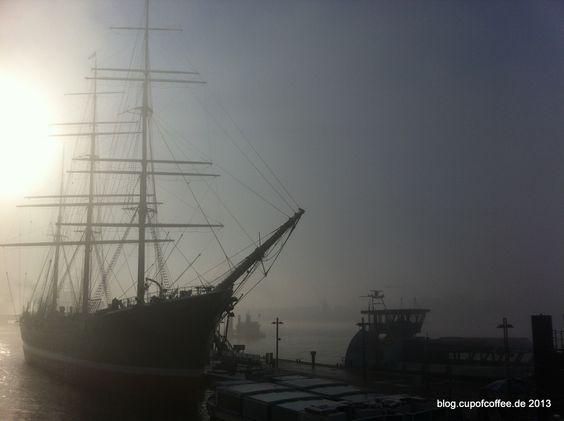 ships » cup of coffee #ship #windjammer #hamburg