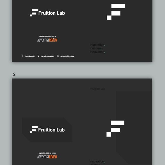 freelance Create schedule booklet for Fruition Lab conference by