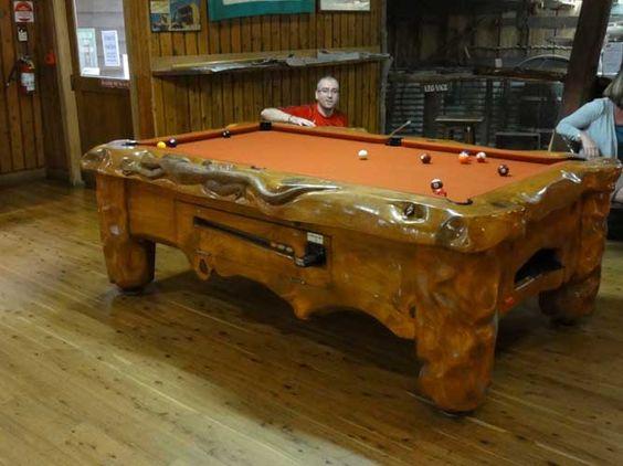 Solid Wood Pool Table | BILLARES | Pinterest | Pool Table, Solid Wood And  Gameroom Ideas