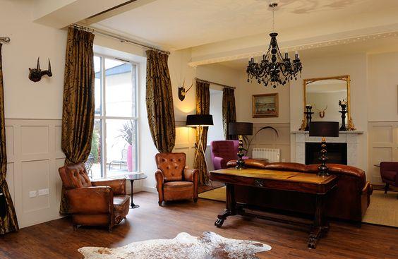 Brooks Hotel, Edinburgh.  Our hotel in Edinburgh.