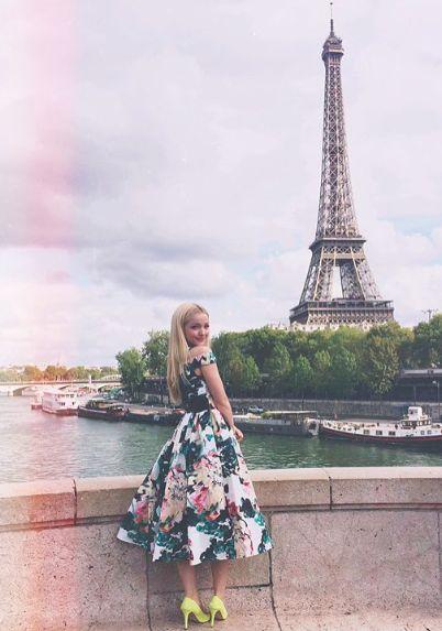 Dove Cameron in Paris