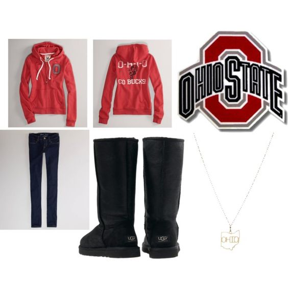 """OSU Lazy Day :)"" by natalie-amber-lanier on Polyvore"