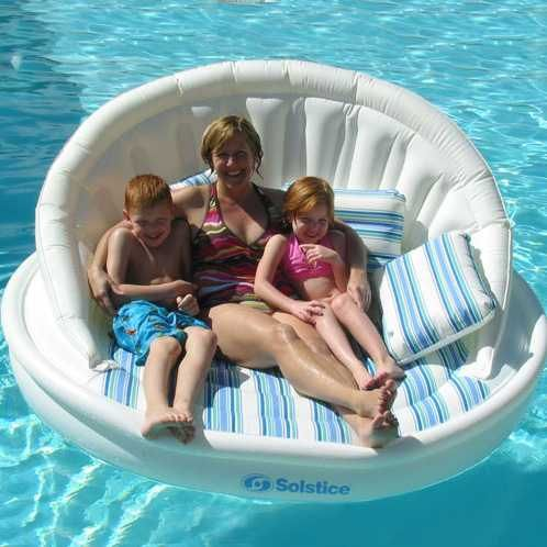Turn Your Pool Into An Outdoor Living Room With A Supersized Aqua