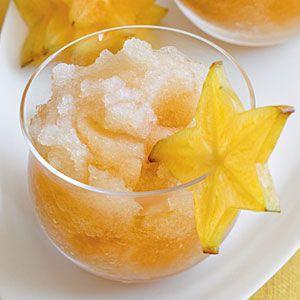 healthy fruit snack passion fruit tea