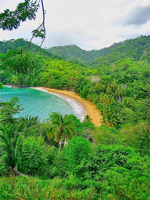 Englishman's  Bay in Tobago #Caribbean
