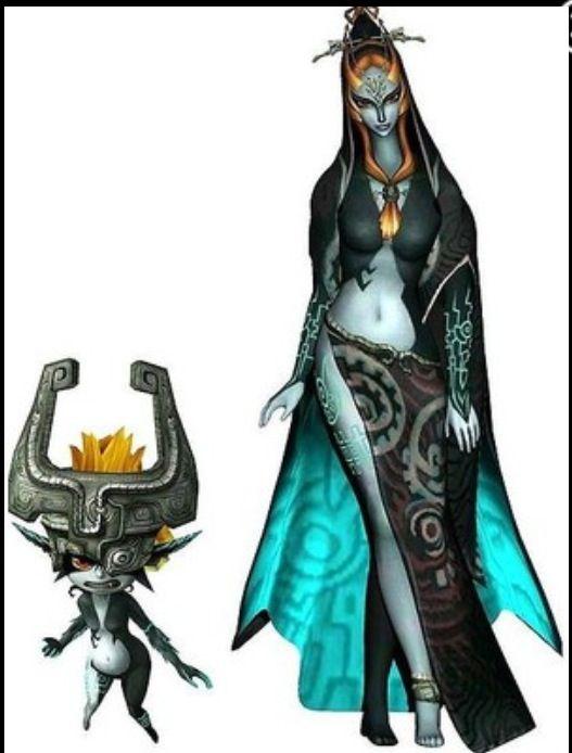 Of Zelda Twilight Princess Midna True Form