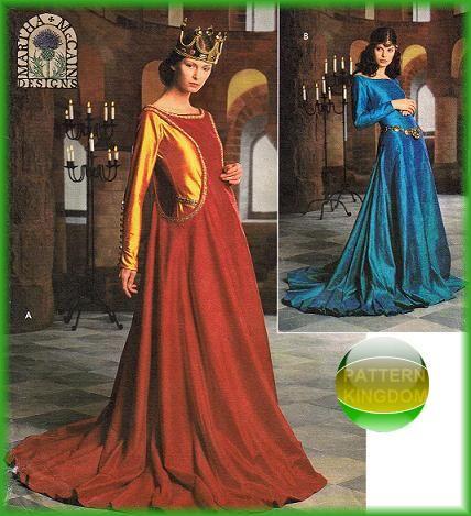 pattern kingdom ladies medieval - photo #24