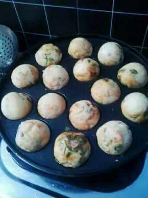 Resep Takoyaki Isi Sosis Ayam Oleh Vava Resep Memasak Sosis Makanan Dan Minuman