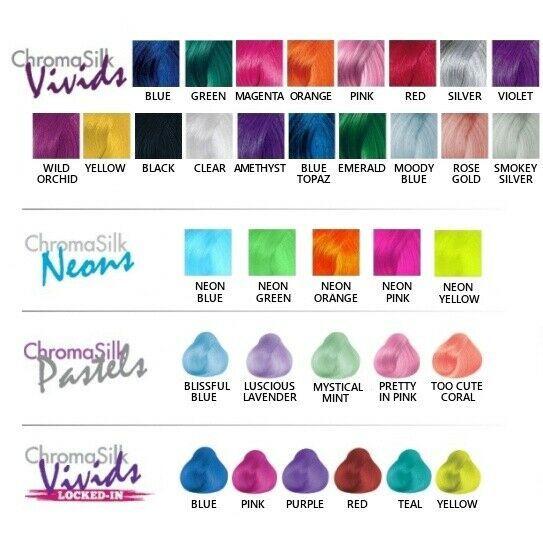 Pravana Hair Color Vivids Neons Pastels Jewel Crystals 3oz And Big Tube Ebay Pravana Hair Color Hair Color Swatches Vivid Hair Color