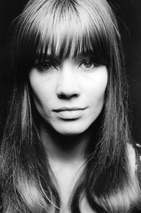 Françoise Hardy | 1965 | #vintage #1960s #hair #makeup:
