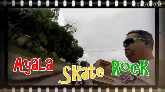 Ayala Skate Rock - um mês de aprendizado