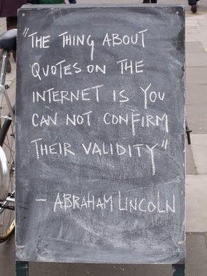 so true, honest abe