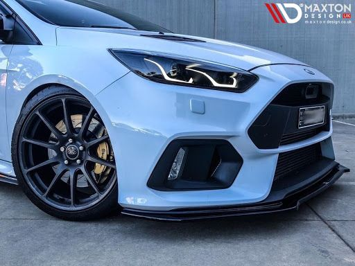 Focus On What S To Come Preferably A Maxton Splitter With Four Different Designs To Choose From On The Focus Mk3 R Ford Focus Rs Ford Focus St Ford Focus