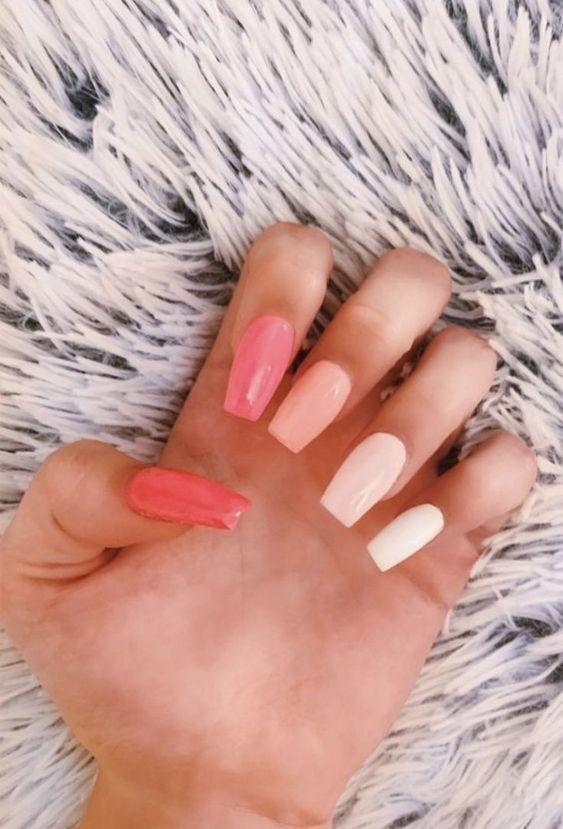 Best Nail Polish Colors For Olive Tan Light Medium Skins Pretty Acrylic Nails Simple Acrylic Nails Aycrlic Nails