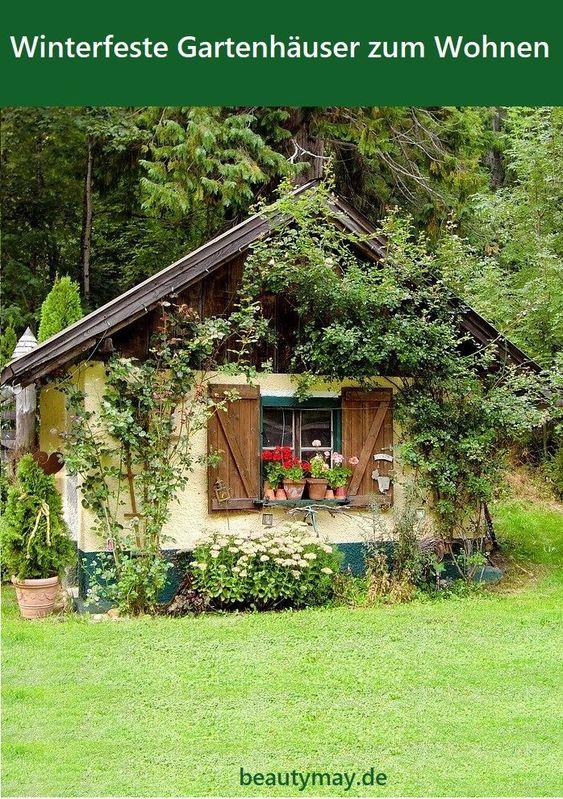 Winterfeste Gartenhäuser zum Wohnen