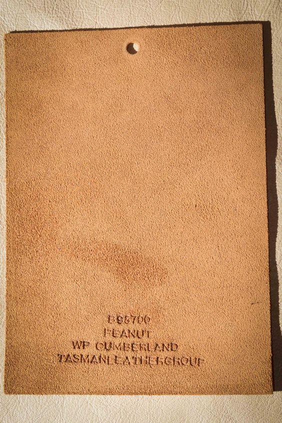 Peanut Cumberland, a product of Tasman Leather Group. #TasmanLeatherGroup #TasmanUSA