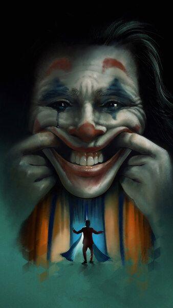 Joker Smile 2019 Joaquin Phoenix Movie 4k Hd Mobile Smartphone