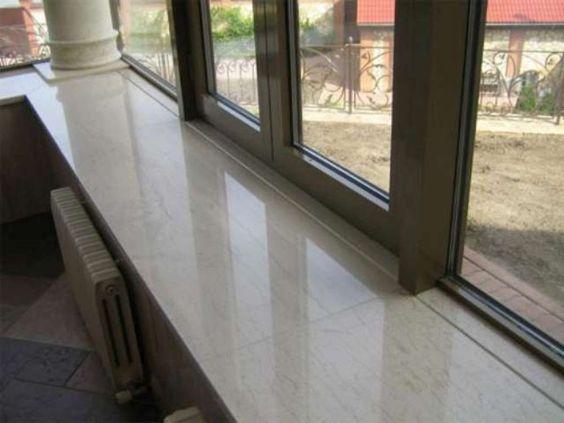Fensterbänke aus Marmor sind für Innen die erste Wahl http\/\/www - k che arbeitsplatte glas