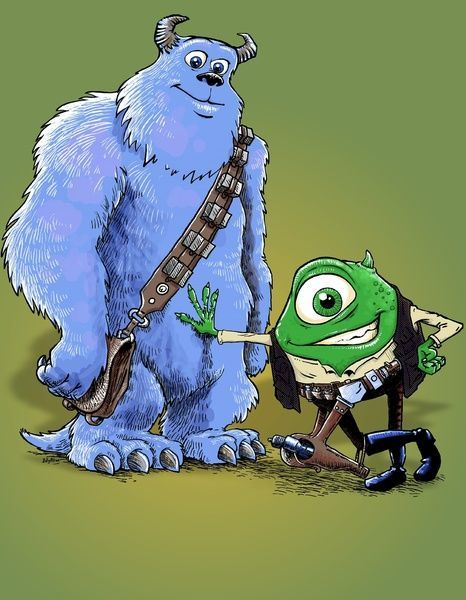 Star Wars: Monsters, Inc.: