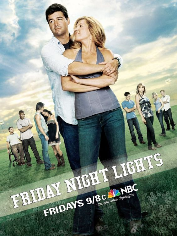 ...only saw it once when it was actually on the air. Friday Night Lights.