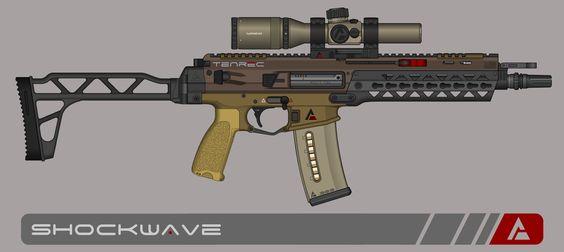Quicksilver Industries: 'Tenrec' SBR by Shockwave9001.deviantart.com on @DeviantArt