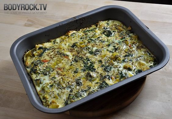 Veggie Quiche, nothing but clean eatings