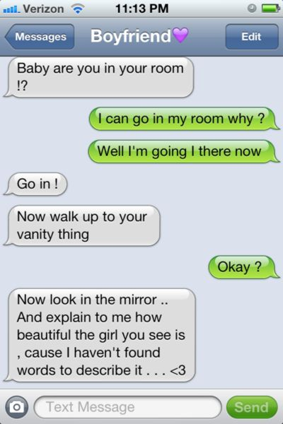 cute messages to send a guy