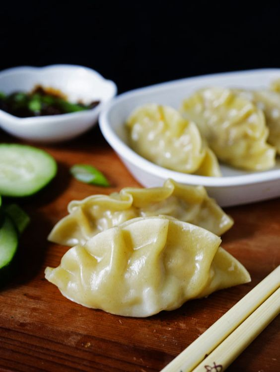 Pot Stickers Recipe - Steamed Pork and Shrimp Dumpling | R e c i p e s ...